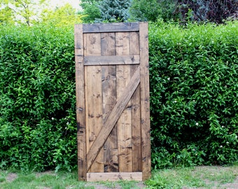 Modern Pantry Barn Door - customize your size & style