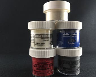 Assorted Full size Embossing Powder