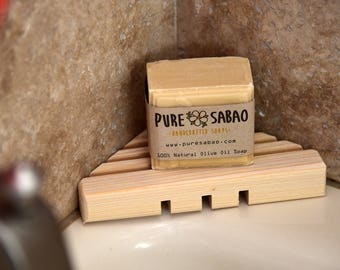 Three-Side Soap Tray – Because Your Shower Has Corners