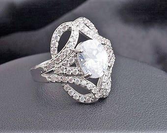 Vintage Cristal Ring