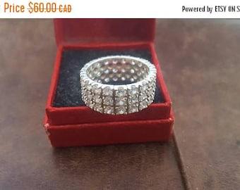 ON SALE Vintage Sterling Silver Ring