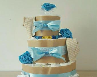 beautiful boy diaper cake