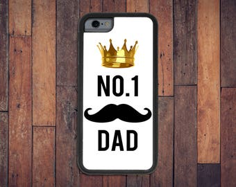 No. 1 Dad Case, iPhone 6/6s/7 case - dad case, gift for dad, Father's Day gift, funny case, I love Dad, dad phone, number one case