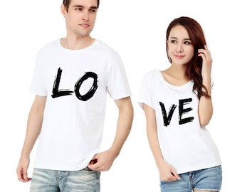New love couple T shirt coulpe t shirt