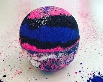 Galaxy Bath Bomb Glitter Bath Bomb Xl Bath Bomb Bubble Bath Bomb Bath Fizzy