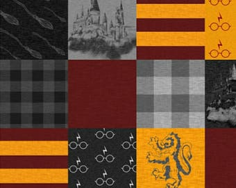 Harry Potter Gryffindor Printed Quilt
