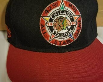 NHL sports specialties snap back, Chicago blackhawks snap back, NHL all star game,NHL hat