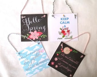 4 cards to suspend arrival of spring