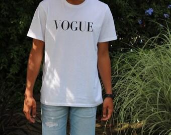 Mens Vogue T-shirt