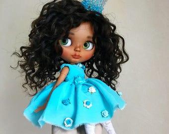 doll sold-Ooak custom blythe doll by Darya Javnerik