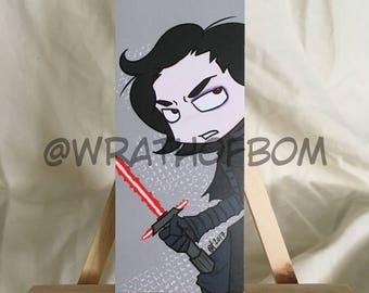 Star Wars Fan Art: Kylo Ren Bookmark