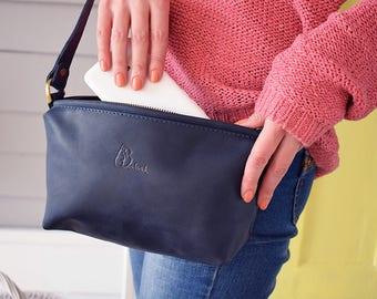 Cross body purse, crossbody bag small, genuine leather purse, women's small bag, handmade purse, small purse, small bag for women, gift