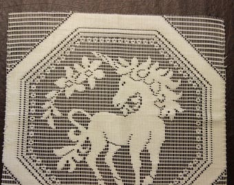 Unicorn Panel Open Weave Panel Display Panel Pillow Fabric Panel Octagon Outer Frame Fancy Unicorn Center 6 Available New Condition