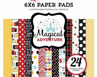 Block of Magical Adventure sheets