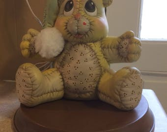 Vintage Teddy Bear Lamp