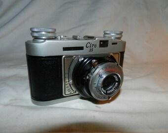 Vintage Camera - Ciro 35 Alphax Matic  camera with Wollensak Anastigmat 3.5 / 50mm lens - For Parts or Repair - Display Camera          57-5
