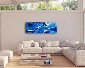 Resin Art - Blue Metallic - Made to Order