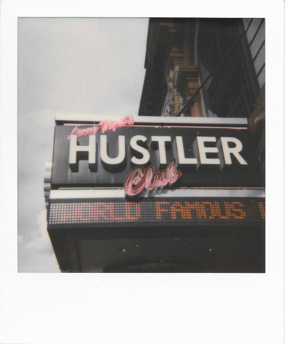 World Famous Hustler Club : Polaroid Collection