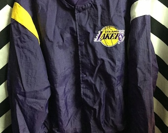 Nba Los Angeles Lakers Thin Button-up Jacket