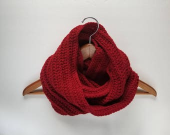 Infinity Scarf, Loop Scarf, Fall Scarf, Winter Scarf