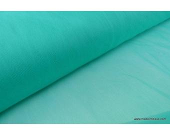 Tulle souple robe de mariée Vert emeraude en 3.00m de large x50cm