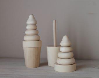 Pyramid Ice Cream