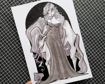 Lady Amalthe / ORIGINAL ART / The Last Unicorn