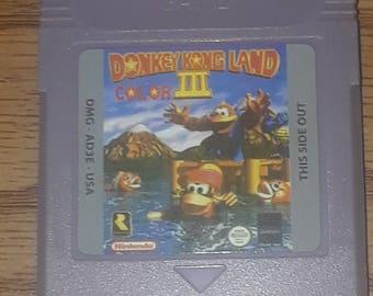 Donkey Kong Land Color III  GBC Custom English
