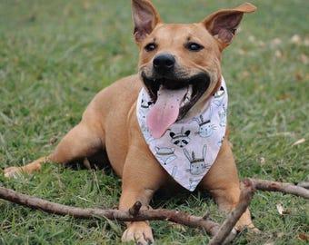 Tigerlily Reversible Dog Bandana