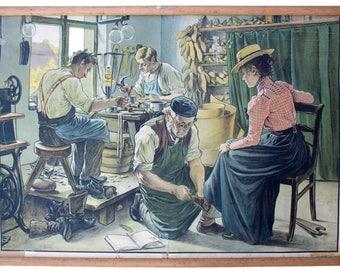 Schoenmaker, educatieve grafiek, 1929