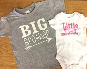 Big Brother Little Sister Set with Arrow
