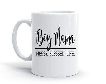 Boy Mama -Coffee Mug