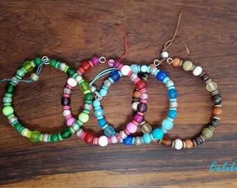 """Multicolor bracelet """"Narayani"""""""
