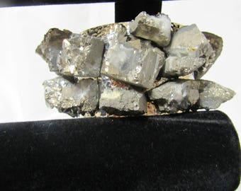 Grey Stone Cuff