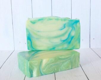 Soap for Men, Sport Scent Soap, Masculine Scent Soap, Manly Soap, Arctic Edge Scent, Men's Skincare, Gym Rat Soap, Soap for Him, Men's Soap