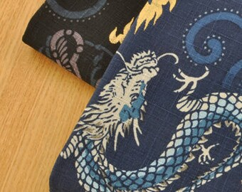 Dragon Pattern Cotton Fabric MT061