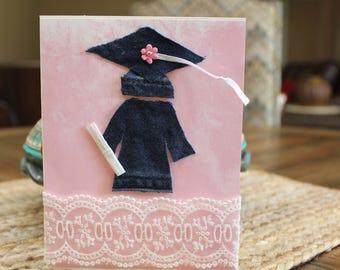 Denim Graduation Card