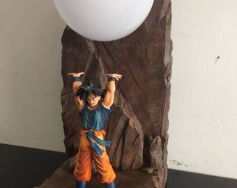 Diorama dragon ball lamp