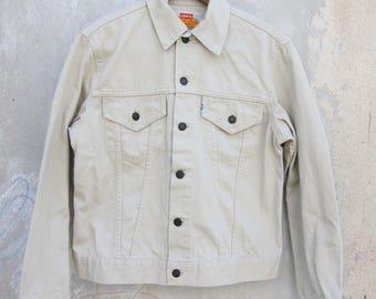 Levi's White Trucker Jacket Japan