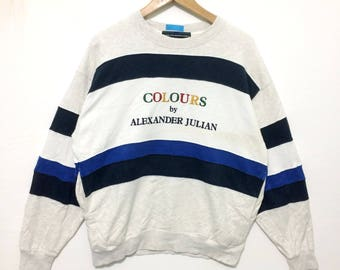 Vintage designer COLOURS By Alexander Julian Coloursport Large Size yohji kansai comme des garcons