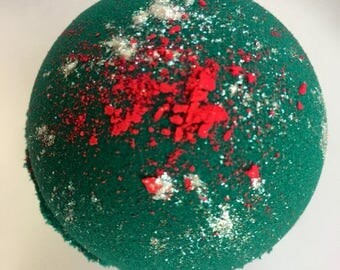 Mermaid blood shea butter bath bomb.. the fourth of our abyss collection  5.5 ounces green bath bomb
