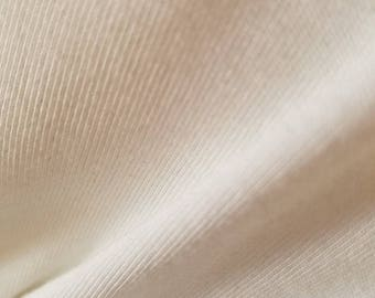 "Rib ""Organic Cotton"" bleach PFD knit"