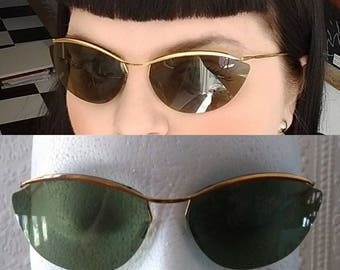 Genuine Vintage 1950s Cateye Sunglasses