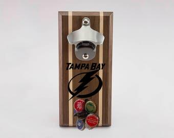 Tampa Bay Lightning Magnetic Bottle Opener