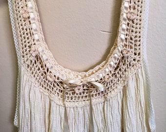 Hand Crochet Summer Cotton Dress
