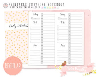Hourly planner | Etsy