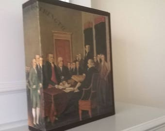 200 Years - A Bicentennial Illustrated History of the United States - Hardcover History Book