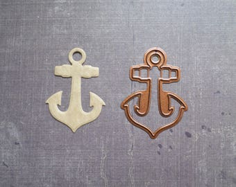 Die cut Stencil Creative sailor anchor