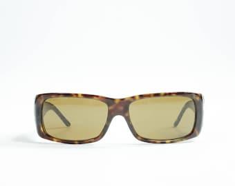 PRADA - Plastic rectangular sunglasses
