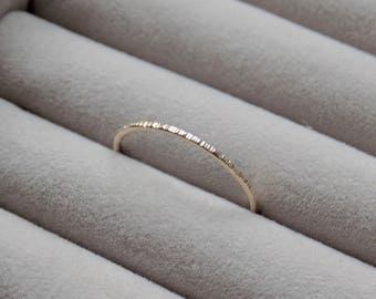 Hammered Ring   Gold Filled Ring   Midi Ring   Dainty Ring   Gold Stacking Rings Gold   Minimalist Jewellery   Delicate Ring   Gold Ring
